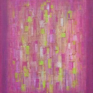 Dédale 2  - 30 x 24 cm  - Acrylique