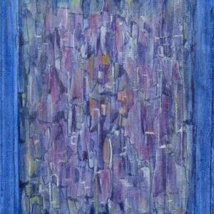 Dédale 5  - 30 x 24 cm  - Acrylique