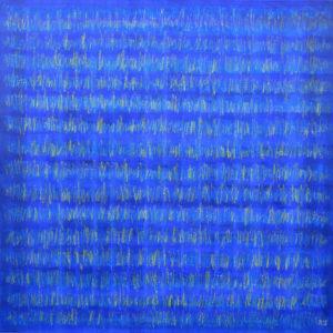 Arbre 1 - 100 x 100 cm - acrylique et huile