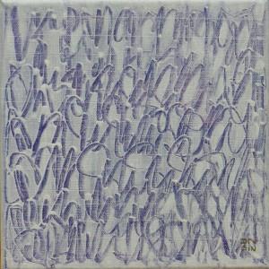 Diptyque 1a - 20 x 20 cm - acrylique