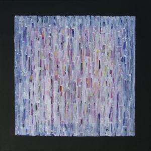 Dédales : Résurgence 100 x 100 cm - Acrylique