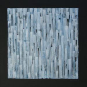 Dédales : Emergence 100 x 100 cm - Acrylique