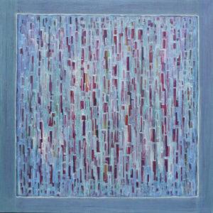 Dédales : Le Grand 100 x 100 cm - Acrylique