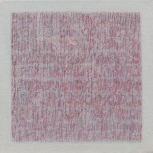 Les Fils du temps 1 - 30 x 30 cm - acrylique, encre et collage