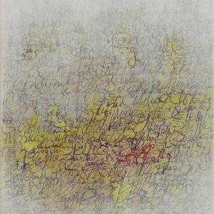 Les Fils du temps 1a - 30 x 24 cm - acrylique et encre