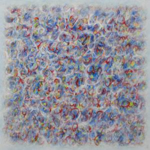 Métamorphose I - 100 x 100 cm - acrylique