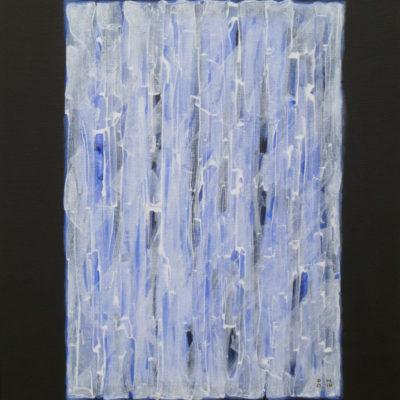 Voile 10 - 65 x 50 cm - acrylique & huile