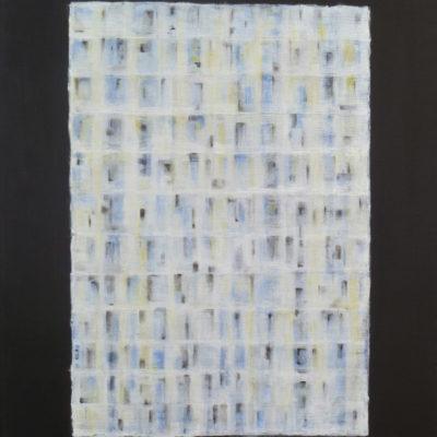 Voile 5 - 65 x 50 cm - acrylique & huile