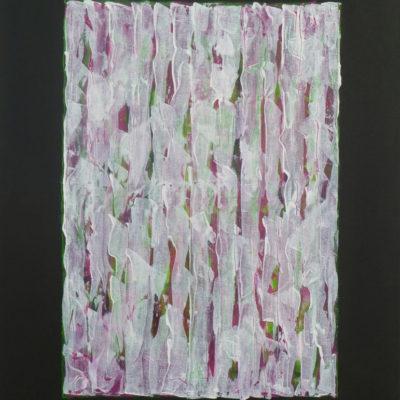Voile 6 - 65 x 50 cm - acrylique & huile