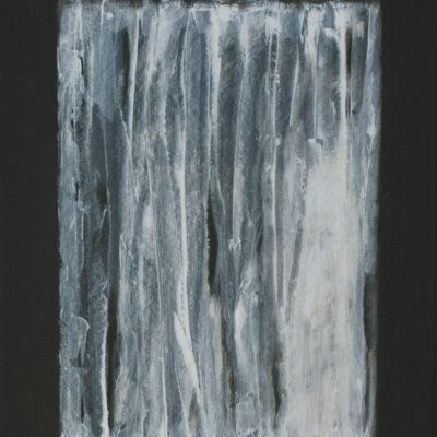 Voile 1 - 65 x 50 cm - acrylique & huile