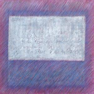 Epreuve de Temps 4  100 x  100 cm - acrylique et huile
