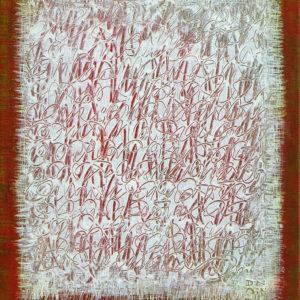 Les Fils du temps 11 - 30 x 24 cm - acrylique