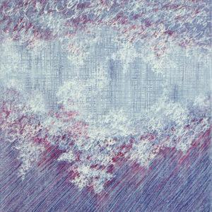 Les Fils du temps 7 - 30 x 24 cm - acrylique