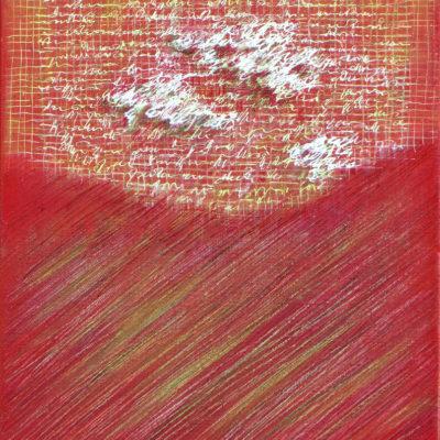 Les Fils du temps 8 - 30 x 24 cm - acrylique