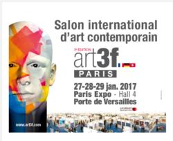 Art3f salon d'art contemporain Paris janvier 2017