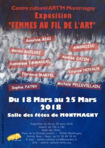 Mars 2018 à Montmagny : Femmes au fils de l'art
